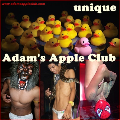 Adam's Apple Club is unique