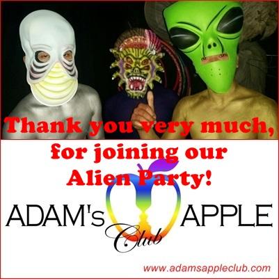 Alien Party Adams Apple Club