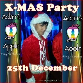 20.12.2015 X-Mas Adams Apple Club 2015