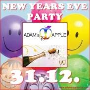 31.12.2015 Happy New Year Adams Apple a