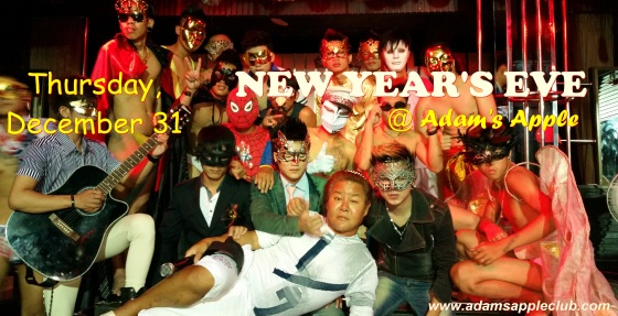 31.12.2015 New years eve Adams Apple