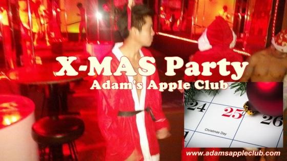 X-Mas Adams Apple Club 2015 Banner