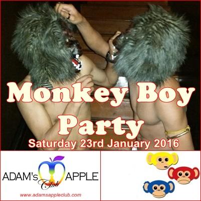 14.01.2015 Monkey Boy Party