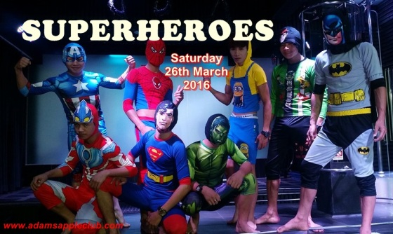 26.03.2016 Superheroes Adams Apple Banner