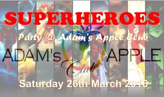 26.03.2016 Superheros Banner
