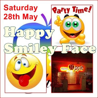 24.05.2016 Happy Smiley Face Party Adams Apple