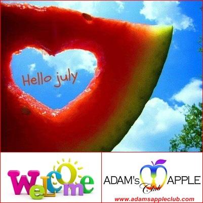 07.07.2016 Hello July 2016 Adams Apple