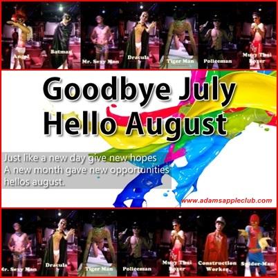 01.08.2016 Hello August Adams Apple Club a