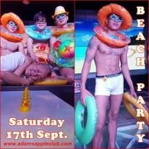 06.09.2016 Beacch Party Adams Apple Club