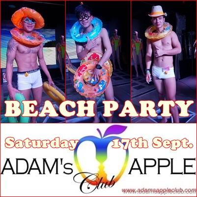 07.09.2016 Beacch Party Adams Apple Club
