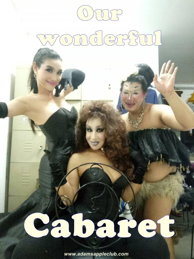Our wonderful Ladyboy Cabaret