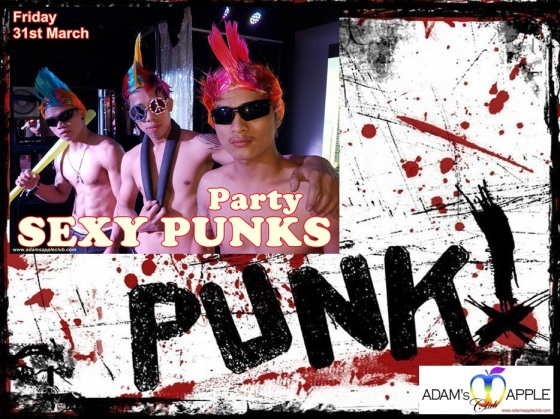 12.03.2017 Sexy Punks Adams Apple Club a