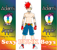 31.03.2017 Sexy Punks Adams Apple Club b