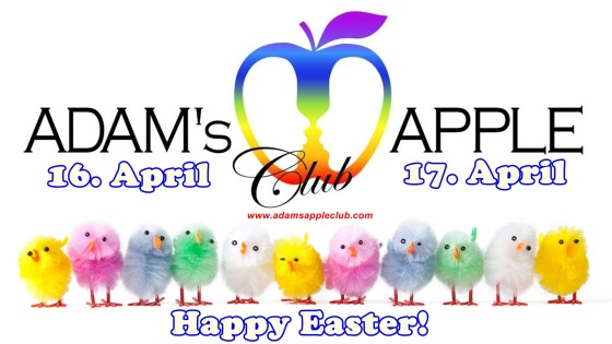 12.04.2017 Happy Easter Adams Apple Club a