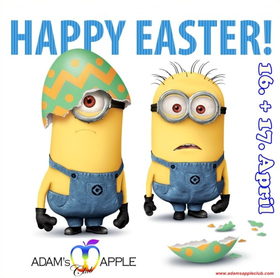 12.04.2017 Happy Easter Adams Apple Club