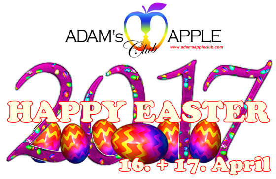13.04.2017 Happy Easter Adams Apple Club