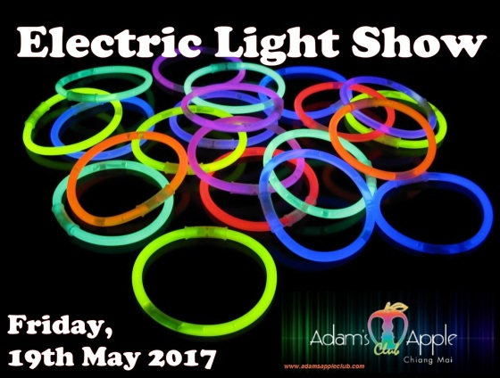 19.05.2017 electric light show Adams Apple Club a