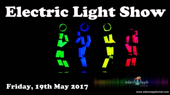 19.05.2017 electric light show Adams Apple Club
