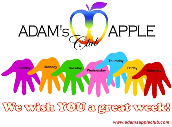 29.05.2017 We wish you a great week Adams Apple Club a