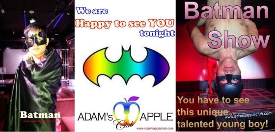 07.06.2017 Gay Adams Apple Club Batman