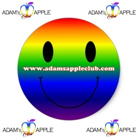 21.06.2017 rainbow smiley Adams Apple Gay Club Chiang Mai c