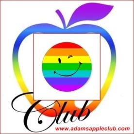 21.06.2017 rainbow smiley Adams Apple Gay Club Chiang Mai