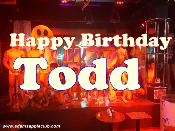 21..08.2017 Birthday Todd Adams Apple Club a
