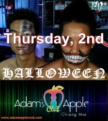 HALLOWEEN @ Adam's Apple Club