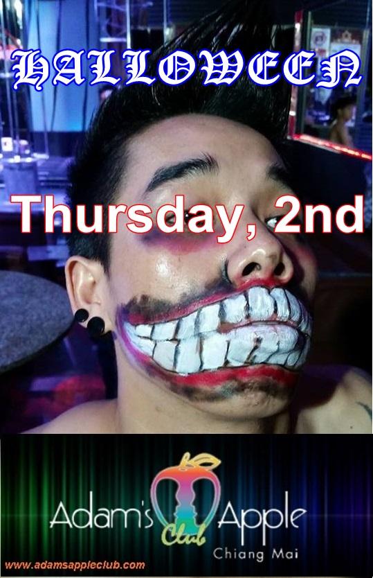 Halloween Adams Apple Gay Club Chiang Mai