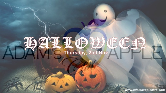 03.11.2017 Halloween Adams Apple Club Banner b