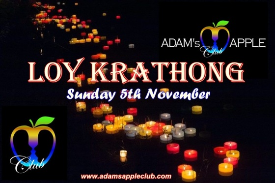 03.11.2017 Loy Krathong Adam's Apple Club