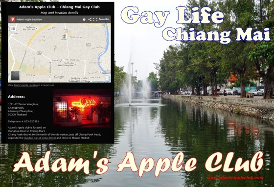 09.10.2017 Chiang Mai Gay Scene Adams Apple Club a