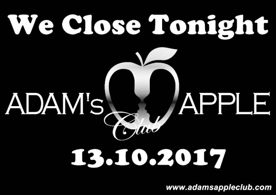 13.10.2017 Adams Appple Club Close a