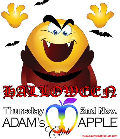 23.10.2017 Halloween Adams Apple Club b