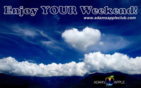 10.11.2017 Happy Weekend Adams Apple Club Chiang Mai