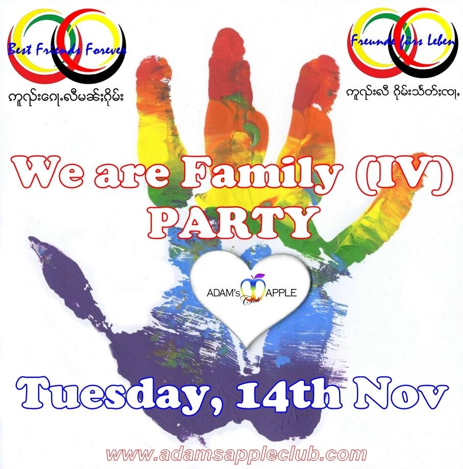 We are Family IV Adams Apple Gay Club Chiang Mai