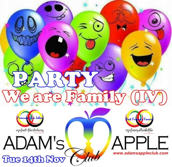 We are Family IV Adams Apple Gay Club Chiang Mai