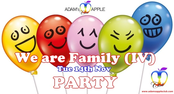 14.11.2017 We are Family IV Adams Apple Club e