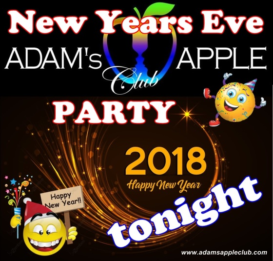 31.12.2017 New Years Eve Party Adams Apple Club