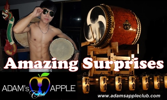 20.01.2018 Adams Apple Club Chiang Mai drum boys
