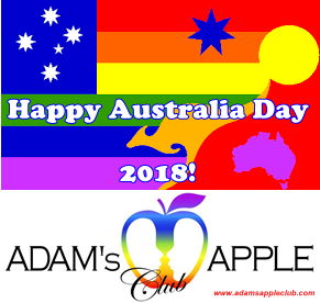 25.01.2018 Adams Apple Club Happy Australia Day d
