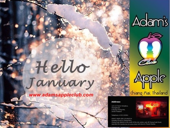 Welcome January Adams Apple Club c