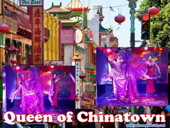 07.02,2018 Queen of Chinatown Adams Apple Club Chiang Mai 2