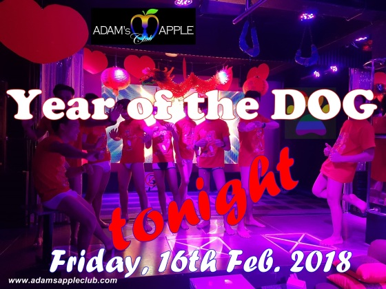16.02.2018 Year of the dog Adams Apple Club Chiang Mai