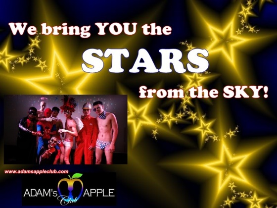 19.03.2018 Adams Apple Club stars from the sky c