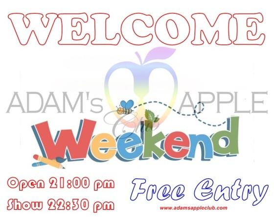 12.05.2018 Happy weekened Adams Apple Club d