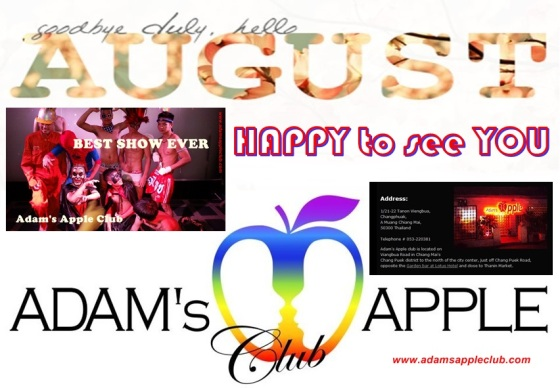 Welcome August Adams Apple Club
