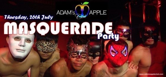 "MASQUERADE Party - ""Night of secrets and the breath of Venice "" – Adam's Apple Club"