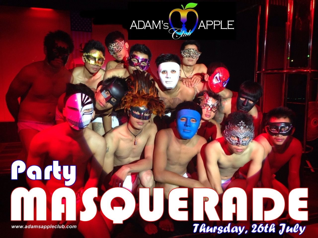 "MASQUERADE Party - ""Night of secrets and the breath of Venice "" – Adam's Apple Club"
