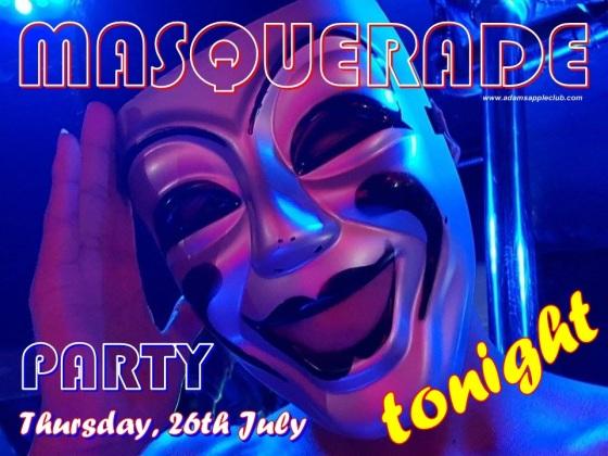 MASQUERADE Party Adams Apple Club